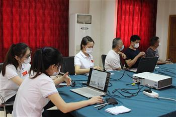 35th Chinese medical team holds video exchange with Sudanese medical staff in Omdurman